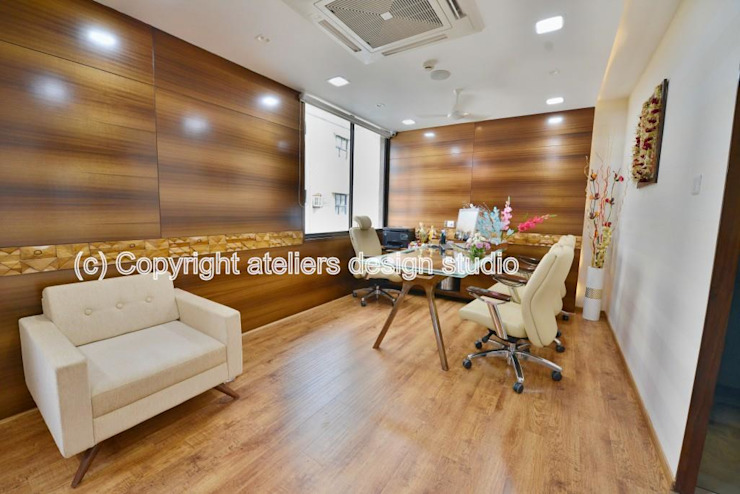 Paramanand pharma Modern office buildings by Ateliers Design Studio Modern