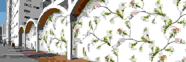 Muurbloem Design Studio_Collection Flowers + Leaves_Blossom: modern  door Muurbloem Design Studio, Modern