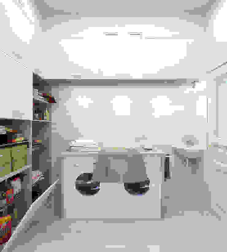 Прачечная Гардеробная в средиземноморском стиле от Студия дизайна Interior Design IDEAS Средиземноморский