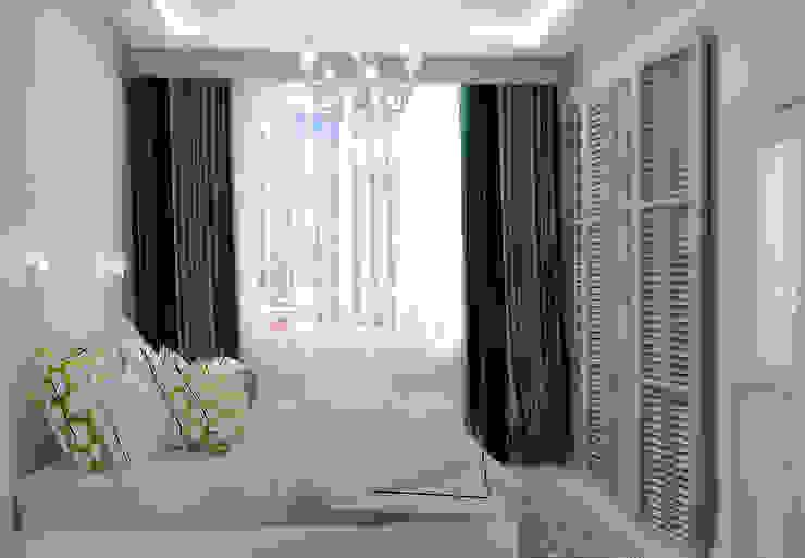 Дом в Средиземноморском стиле в Симферополе Спальня в средиземноморском стиле от Студия дизайна Interior Design IDEAS Средиземноморский