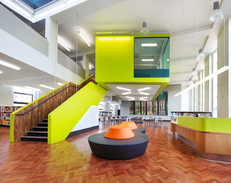 Waltham Forest College Modern schools by Platform 5 Architects LLP Modern