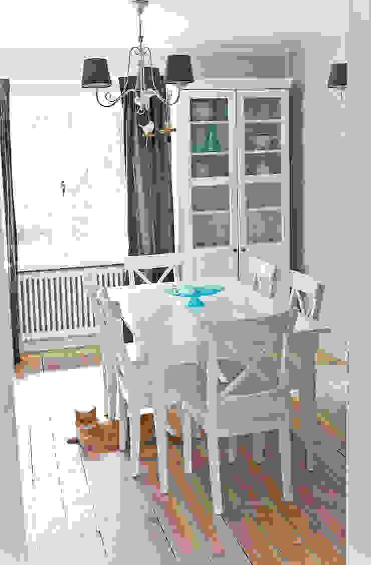 Dom jak z bajki. Skandynawska jadalnia od Miśkiewicz Design Skandynawski