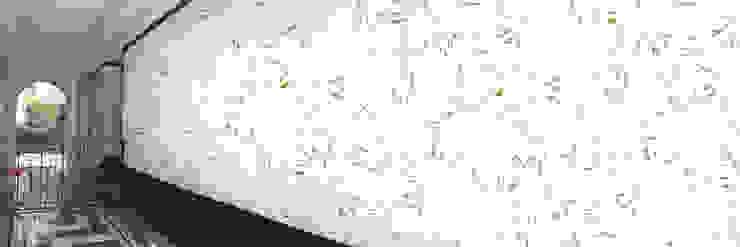 Muurbloem Design Studio_Collection Flowers + Leaves_Grass: modern  door Muurbloem Design Studio, Modern