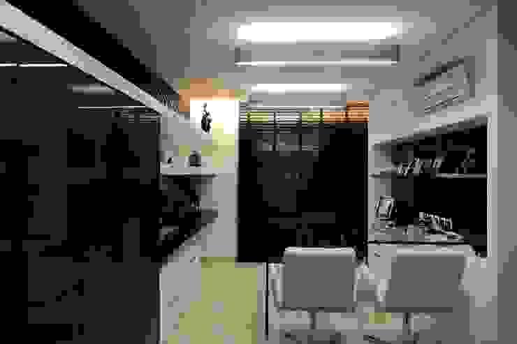 Apartamento Mucuripe Espaços de trabalho clássicos por Carlos Otávio Arquitetura e Interiores Clássico