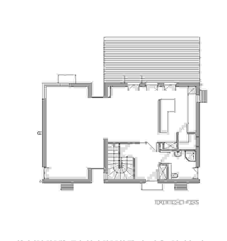 Familienhaus von waldorfplan architekten Minimalistisch