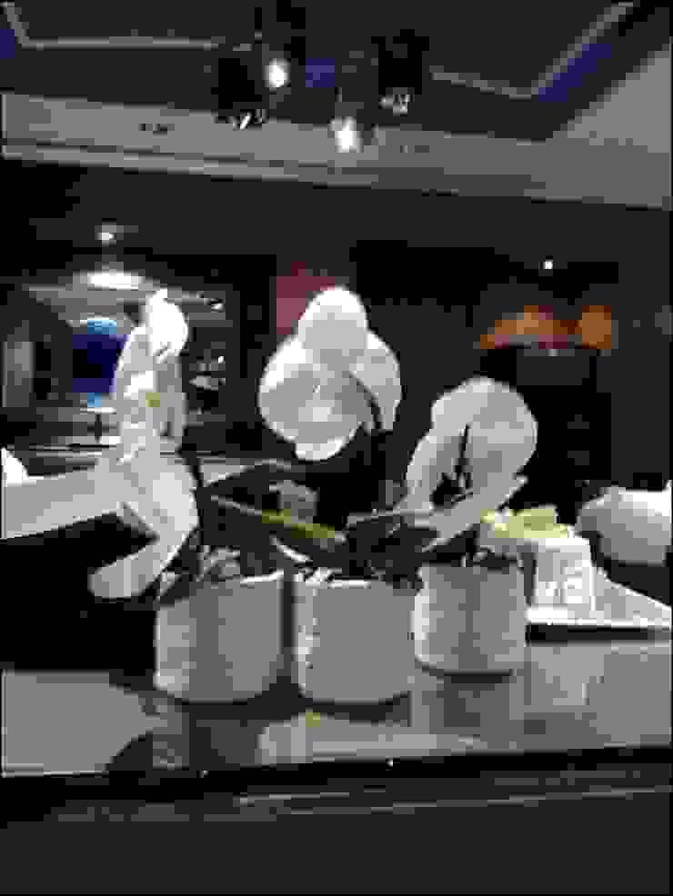 Four Seasons Hotel AQUA Restaurant Ortaköy Parke İç Dekorasyon Akdeniz