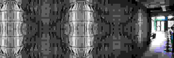 Muurbloem Design Studio_Collection Folds & Pleats_BlackJeans: modern  door Muurbloem Design Studio, Modern