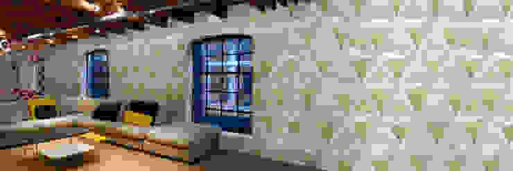 Muurbloem Design Studio_Collection Folds & Pleats_SoftDiamondsFolds: modern  door Muurbloem Design Studio, Modern