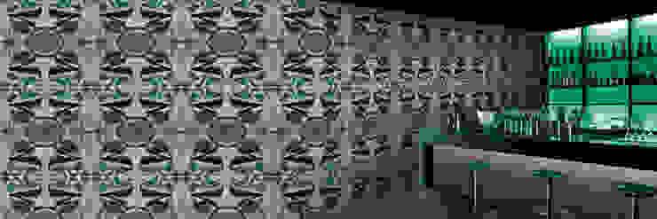 Muurbloem Design Studio_Collection Folds & Pleats_S_Satin_GB: modern  door Muurbloem Design Studio, Modern