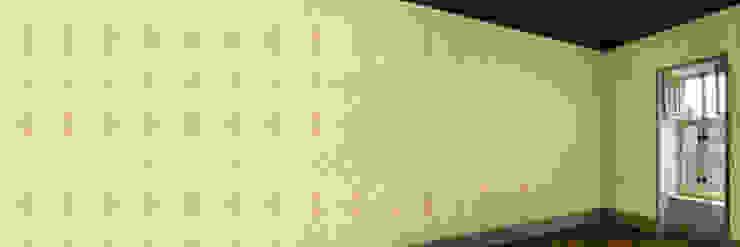 Muurbloem Design Studio_Collection Folds & Pleats_SatinOrnament_GD: modern  door Muurbloem Design Studio, Modern