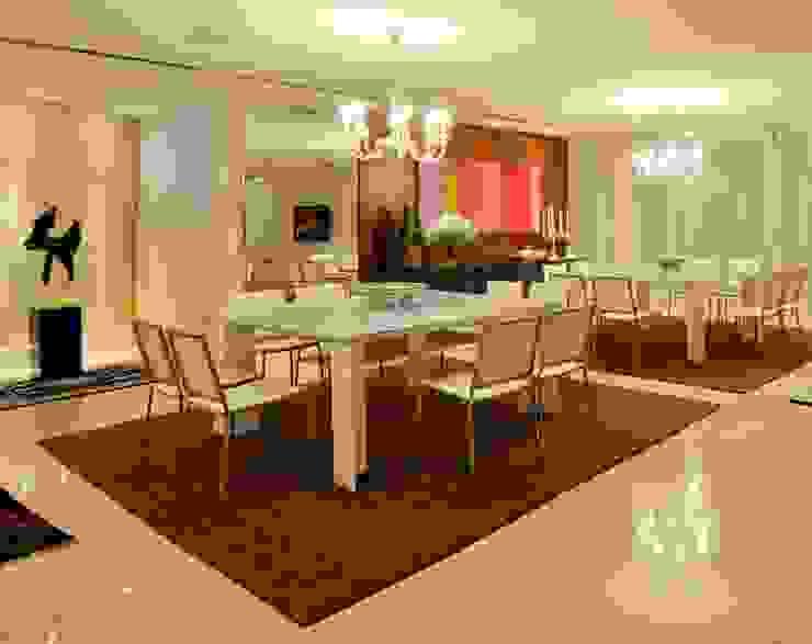 Apartamento 2020 Salas de jantar modernas por Carlos Otávio Arquitetura e Interiores Moderno