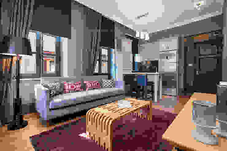 Balkon Residences Modern Oturma Odası f12 Photography Modern