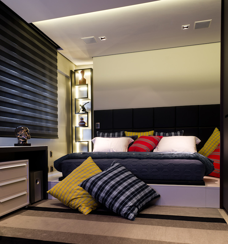 ArchDesign STUDIO Modern style bedroom