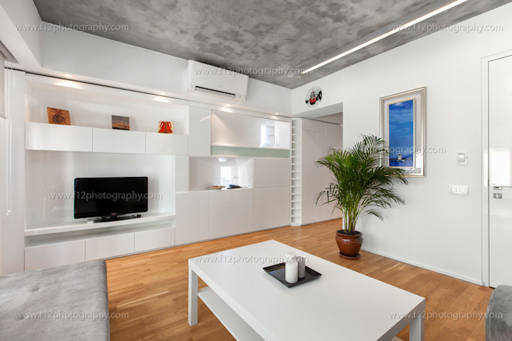 5 Flats Modern Oturma Odası f12 Photography Modern