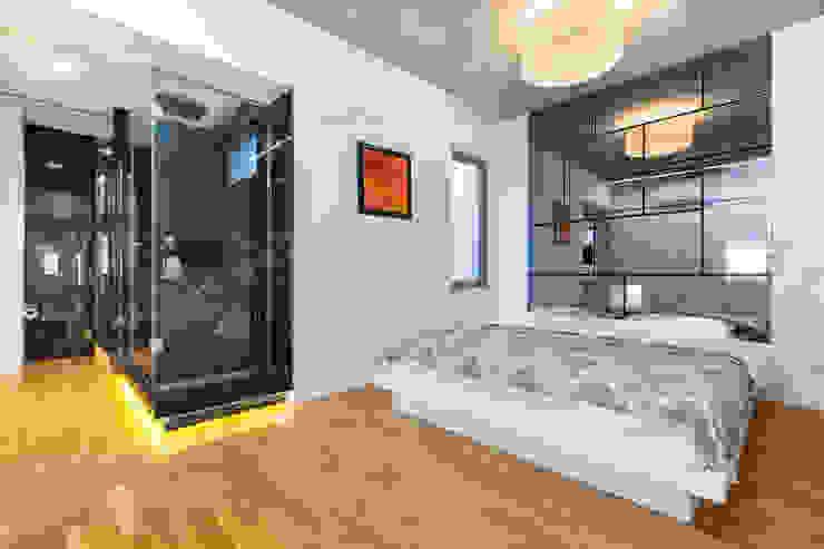 5 Flats Minimalist Yatak Odası f12 Photography Minimalist