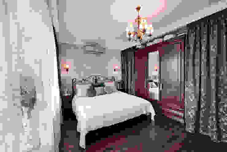 Очарование старой Москвы Спальня в рустикальном стиле от Порядок вещей - дизайн-бюро Рустикальный