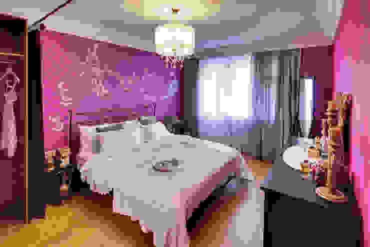 Eclectic style bedroom by Порядок вещей - дизайн-бюро Eclectic