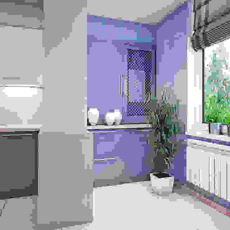 Дизайн квартиры в Севастополе в современном стиле Кухня в стиле минимализм от Студия дизайна Interior Design IDEAS Минимализм