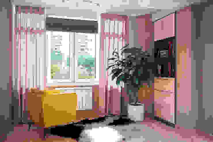 Дизайн квартиры в Севастополе в современном стиле Гостиная в стиле минимализм от Студия дизайна Interior Design IDEAS Минимализм
