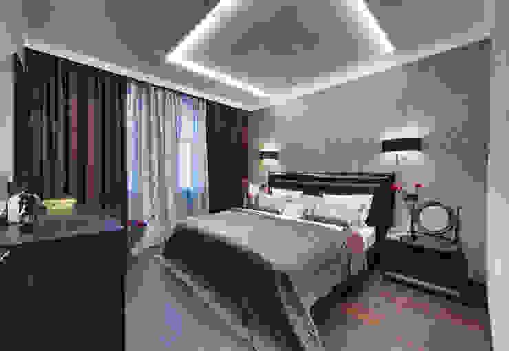 Невесомый дизайн Спальня в стиле минимализм от Порядок вещей - дизайн-бюро Минимализм