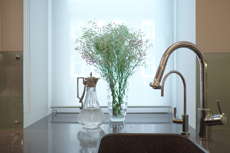 Невесомый дизайн Кухня в стиле минимализм от Порядок вещей - дизайн-бюро Минимализм