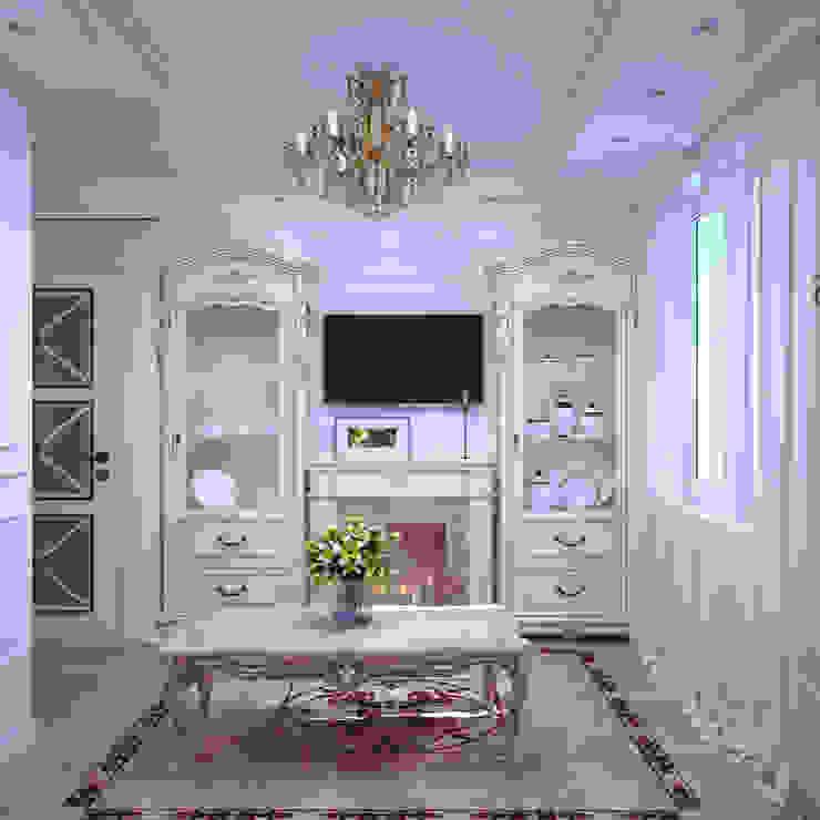 Квартира в Судаке в неоклассическом стиле Гостиная в классическом стиле от Студия дизайна Interior Design IDEAS Классический