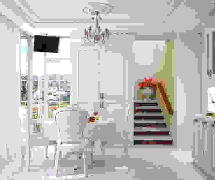Квартира в Судаке в неоклассическом стиле Столовая комната в классическом стиле от Студия дизайна Interior Design IDEAS Классический
