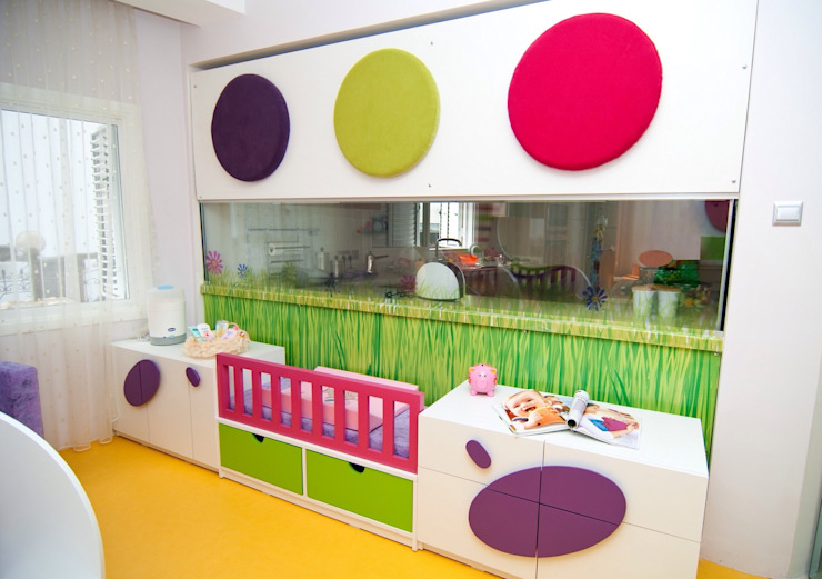 Perçin evi Modern Çocuk Odası Şölen Üstüner İç mimarlık Modern