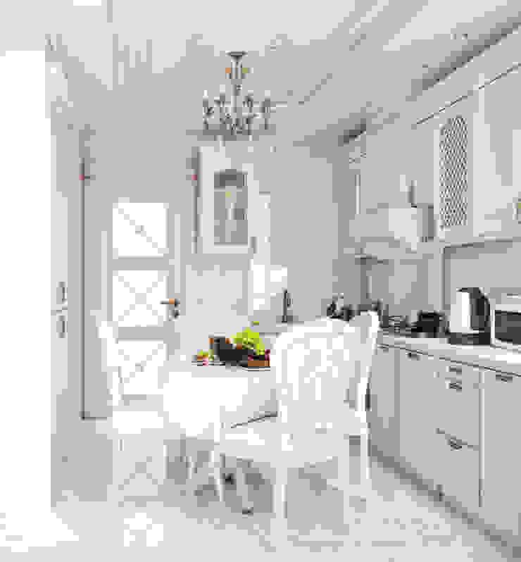 Квартира в Судаке в неоклассическом стиле Кухня в классическом стиле от Студия дизайна Interior Design IDEAS Классический