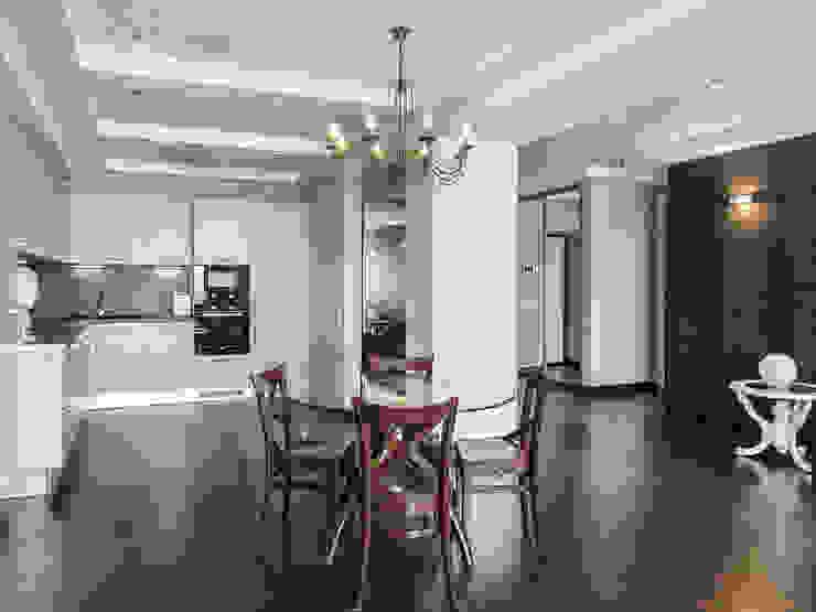 Кухня (вид из гостиной) от PROTOTIPI architects