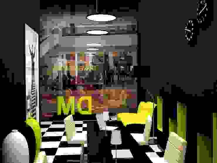 Зона презентации и приема клиентов от PROTOTIPI architects