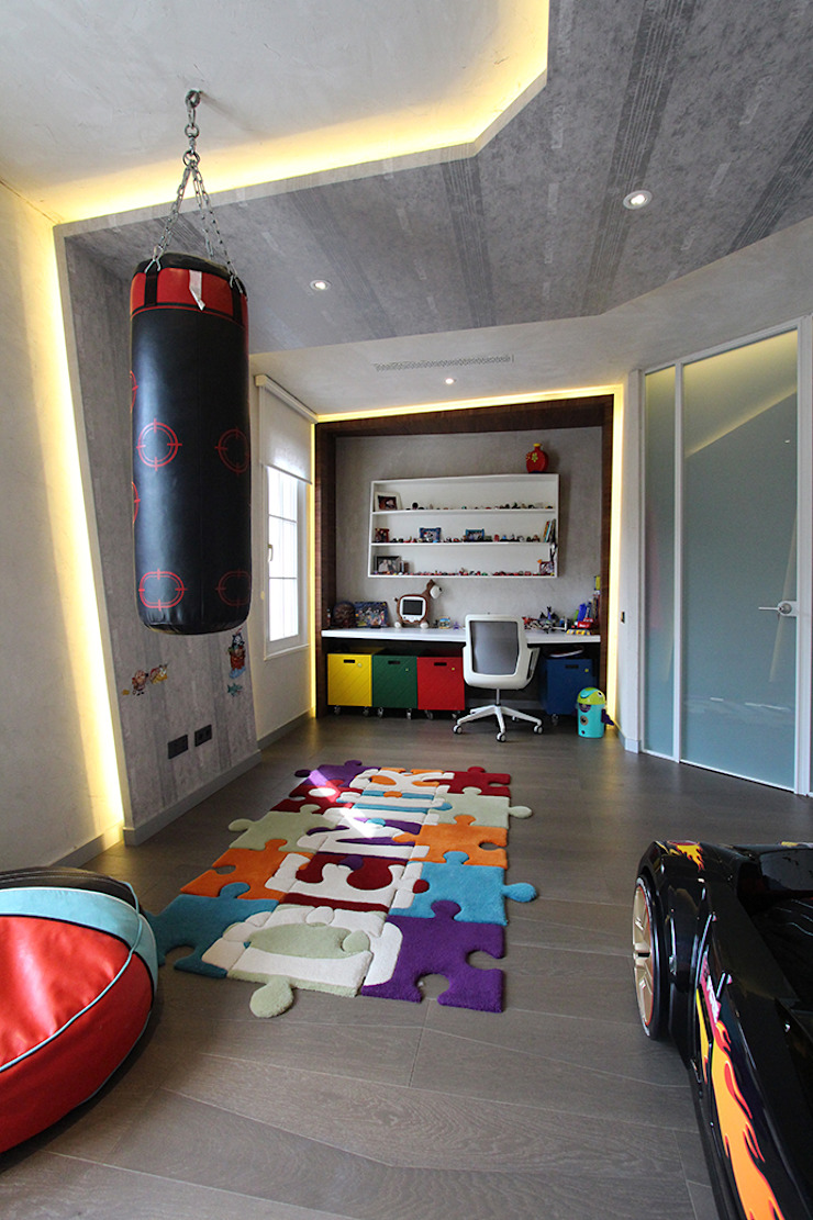 Contemporary Classical Villa in Kemer Golf & Country Modern nursery/kids room by Orkun İndere Interiors Modern