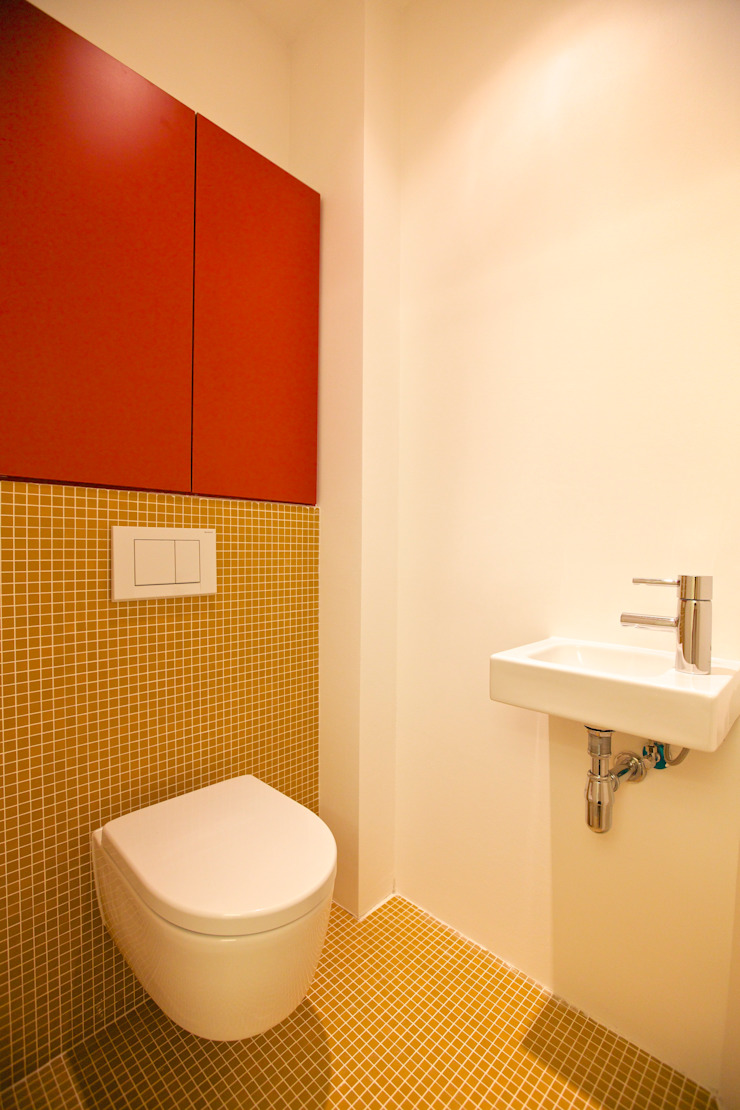 3rdskin architecture gmbh Modern Bathroom
