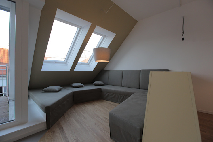 3rdskin architecture gmbh Living roomSofas & armchairs