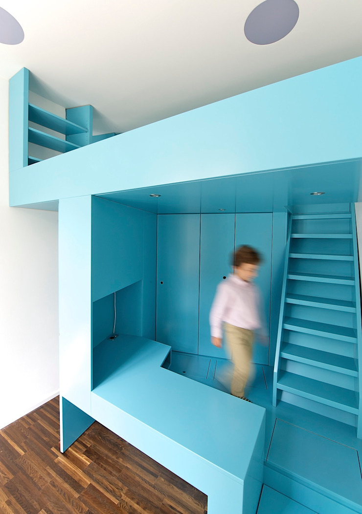 3rdskin architecture gmbh Nursery/kid's roomStorage