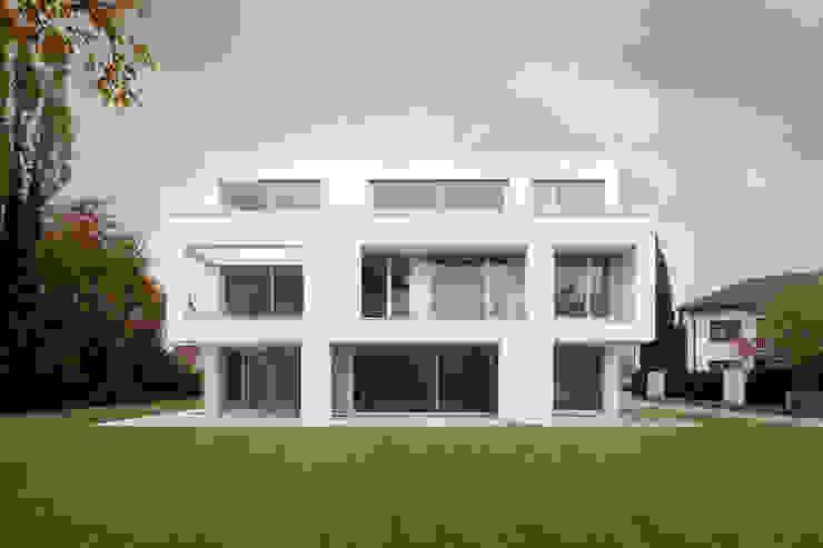 Gartenansicht Moderne Häuser von bilger fellmeth Modern