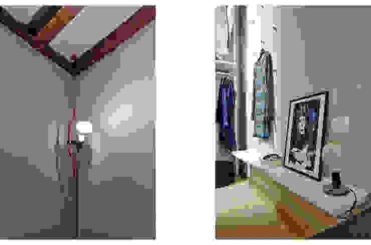 HOU17 Camera da letto minimalista di mimoa Minimalista