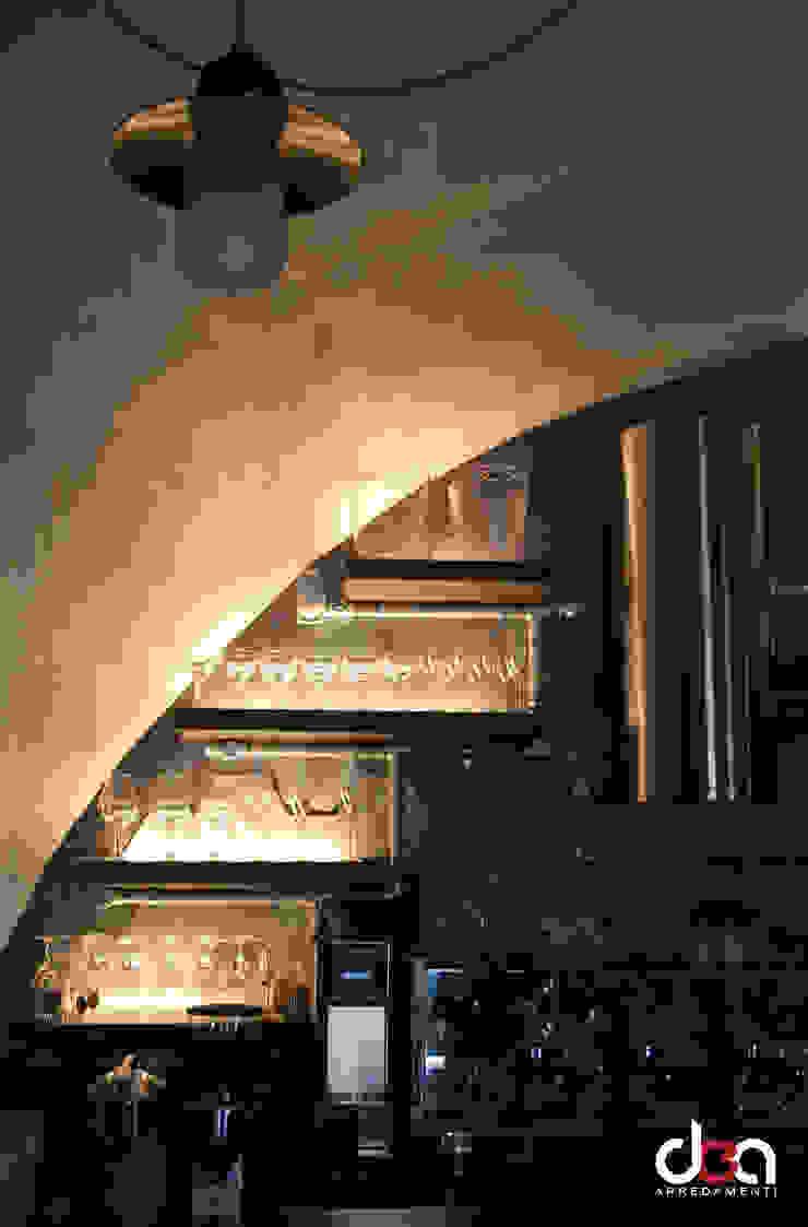 MOJ Cafè Negozi & Locali commerciali in stile industrial di DEA Arredamenti srl Industrial