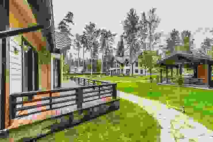 Casas de estilo escandinavo de Belimov-Gushchin Andrey Escandinavo