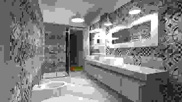 Progetto bagno Bagno in stile classico di B.Mid Classico