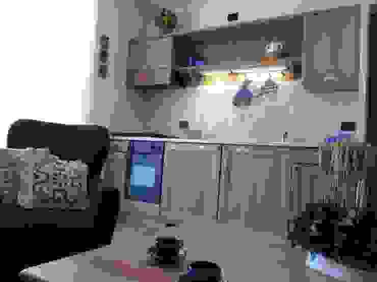 Casa in Valtellina Cucina in stile classico di CS design studio Classico