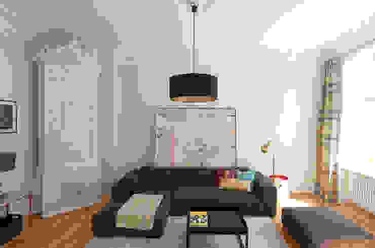 Eyrich Hertweck Architekten Classic style living room