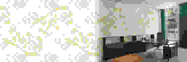 modern  by Muurbloem Design Studio, Modern