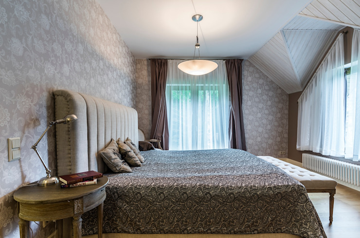 Scandinavian style bedroom by Belimov-Gushchin Andrey Scandinavian