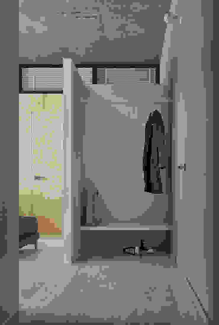 Интерьер IL Коридор, прихожая и лестница в стиле минимализм от INT2architecture Минимализм