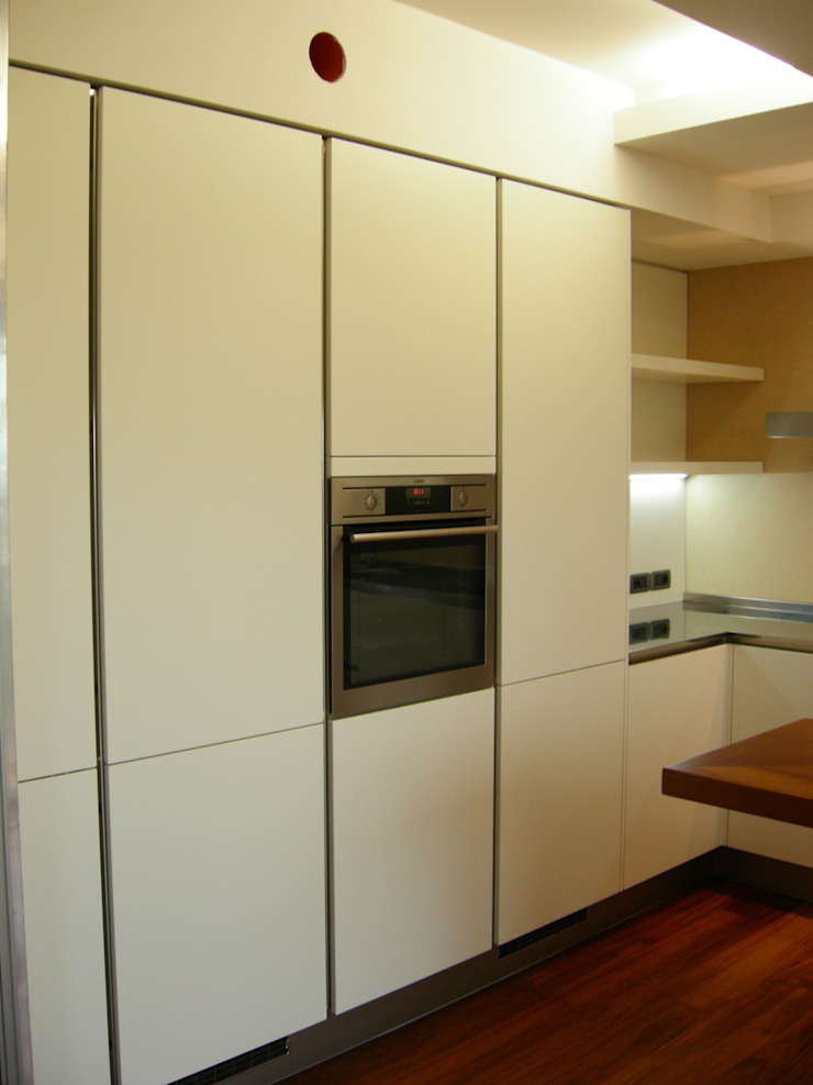 Cucina Häcker AV 6000 Laccato Opaco Cucina moderna di Simone Battistotti - SB design Moderno