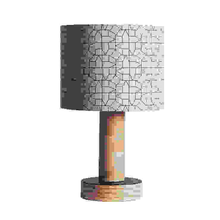 LAMPSHADE – GEOMETRIC CASAS DESIGN IN BLACK: modern  by chocolate creative, Modern