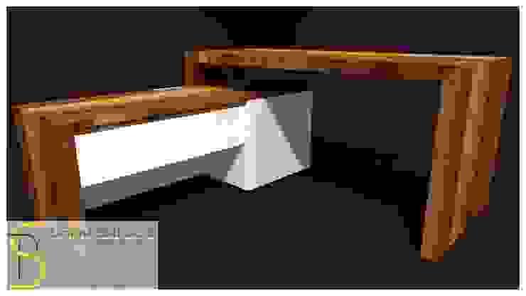 Scrivania di Simone Battistotti - SB design Moderno
