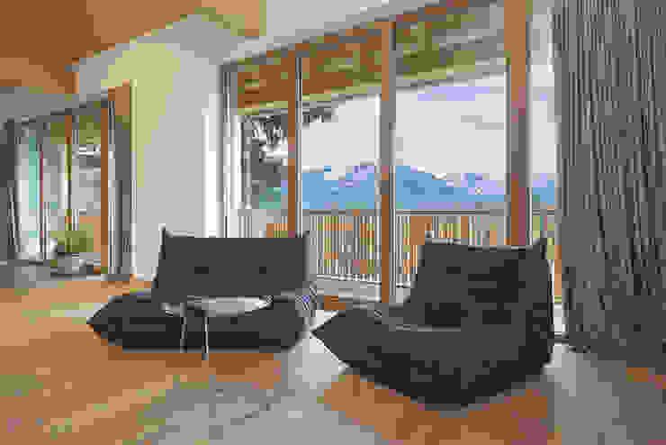 """"""" schöne Aussichten """" Moderne Wohnzimmer von peter glöckner architektur Modern"""