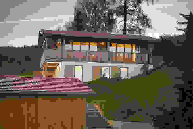 Ansicht von Süd - West Landhäuser von peter glöckner architektur Landhaus